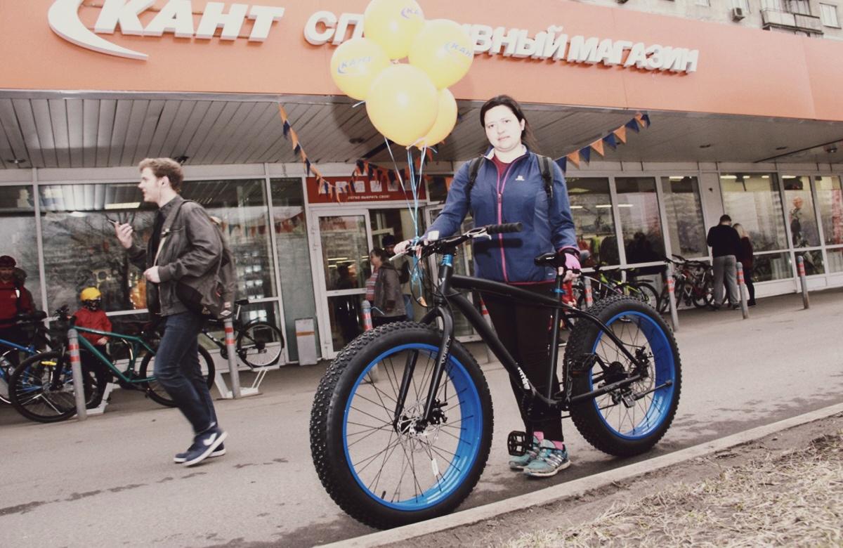 Продажа велосипедов в магазине