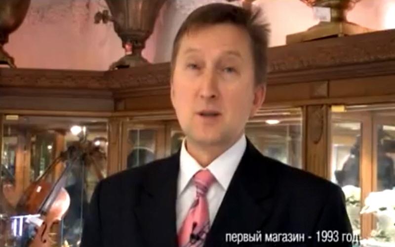 Андрей Буров владелец ювелирного магазина Рубин в ижевске на телеканале ТНТ