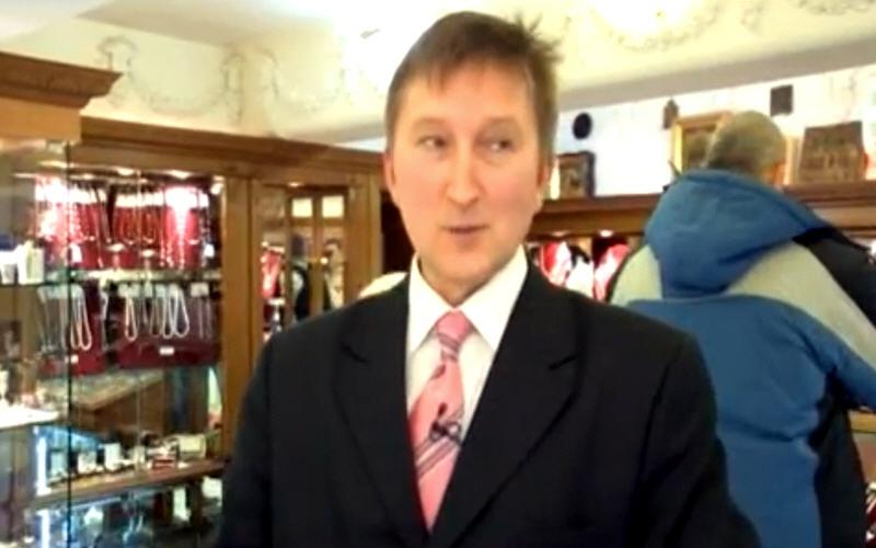 Андрей Буров директор компании Русское Золото