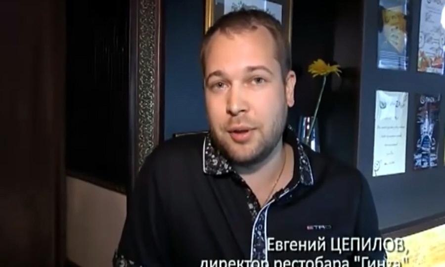 Евгений Цепилов - директор рестобара ГинZа в Ижевске
