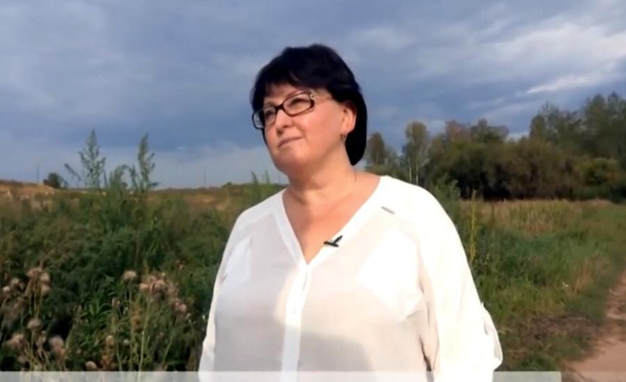 Марина Чередникова - владелица сельскохозяйственного предприятия в деревне Люкшудья