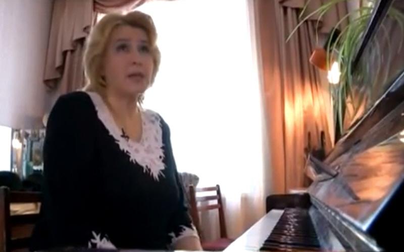 Заслуженная артистка Удмуртской республики Татьяна Силаева