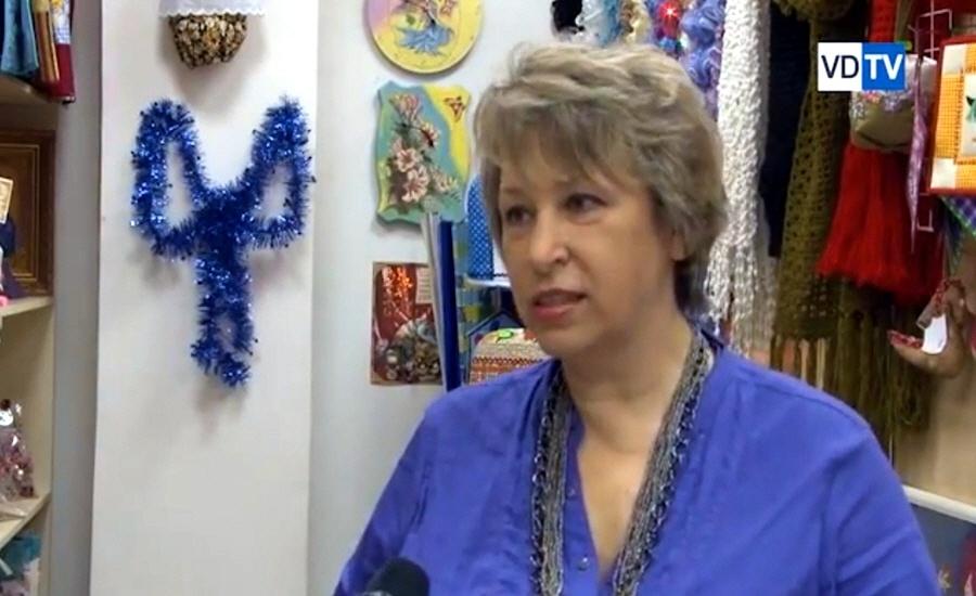 Виктория Кульгузская - владелица магазина подарков и сувениров ручной работы Аришка