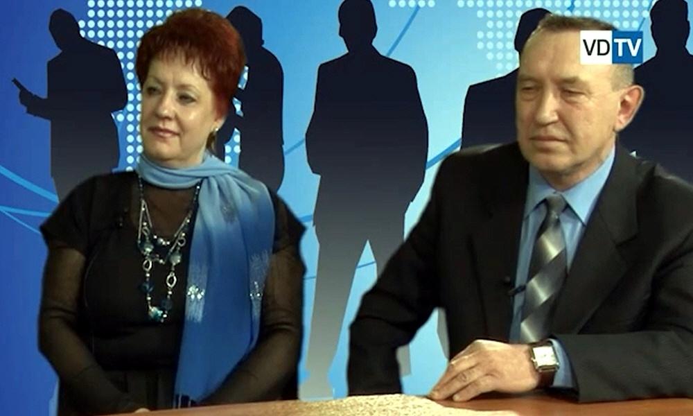 Николай Попов и Елена Плотникова в программе Создай свой бизнес