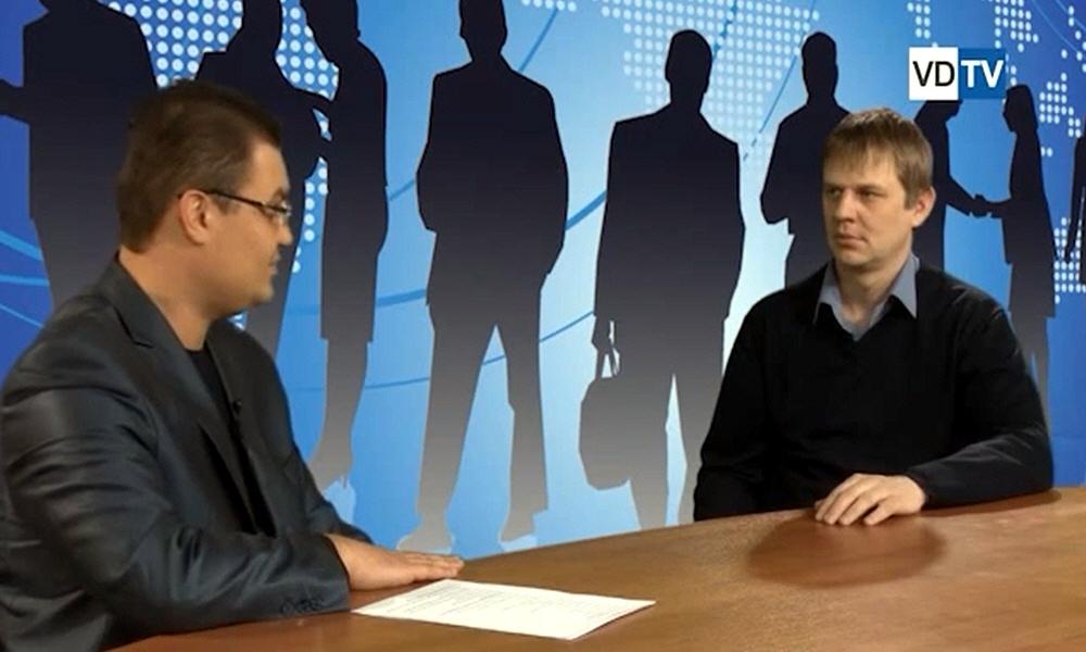 Олег Шляхтин в программе Создай свой бизнес