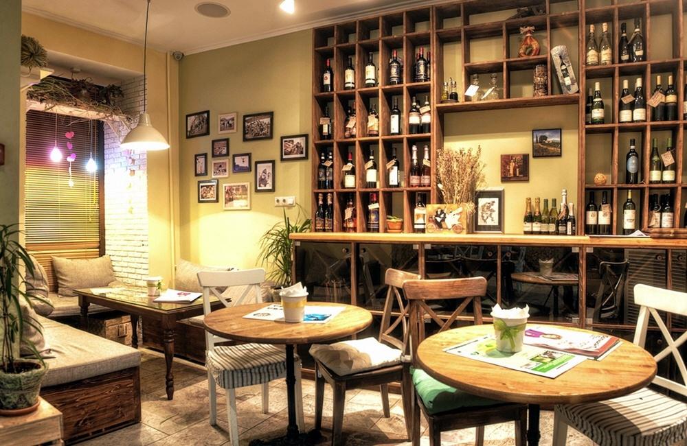 Магазин и ресторан в одном месте