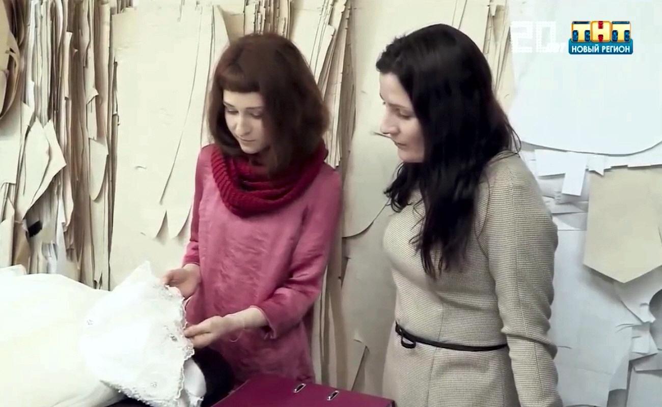 Александра Телицына в программе Стартап на телеканале ТНТ