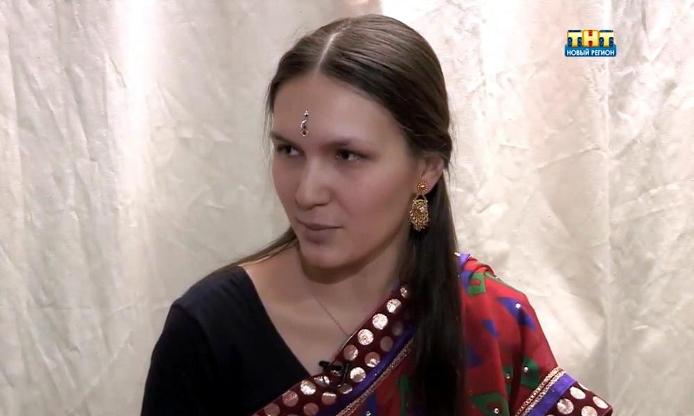 Анастасия Александрова - основательница студии индийского танца Виджая