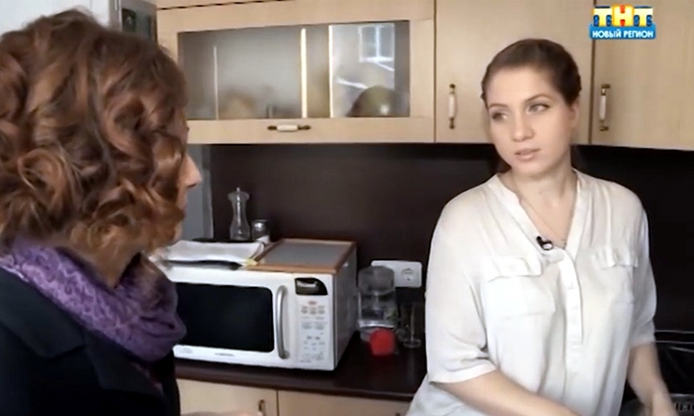 Елена Чуракова в программе Стартап на телеканале ТНТ