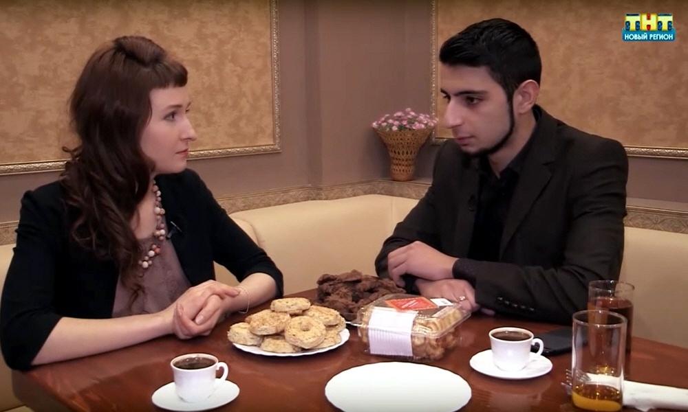 Самвел Сукиасян в программе Стартап на телеканале ТНТ
