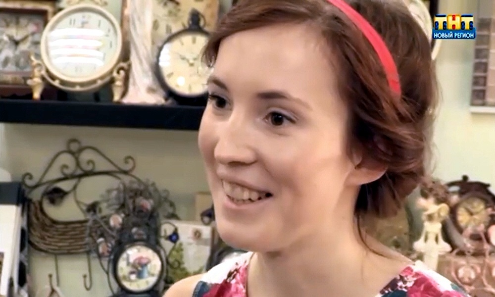 Анастасия Гасникова - владелица магазинчика украшений для невест Stesha Group