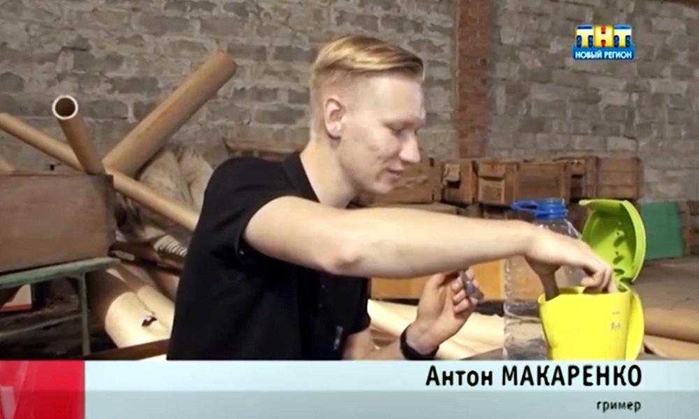 Антон Макаренко в программе Стартап на телеканале ТНТ