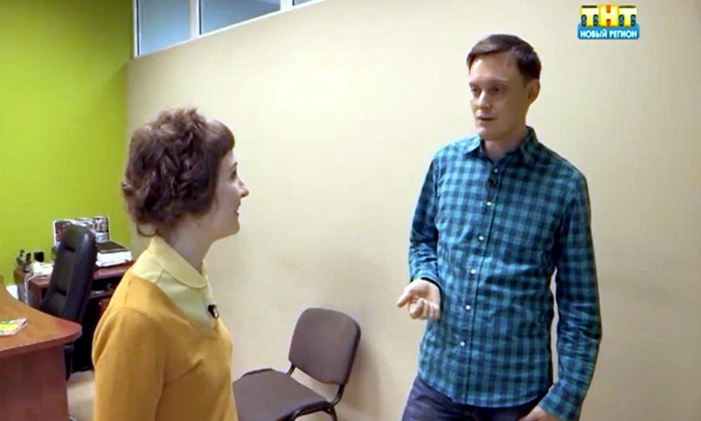 Иван Клабуков в программе Стартап на телеканале ТНТ