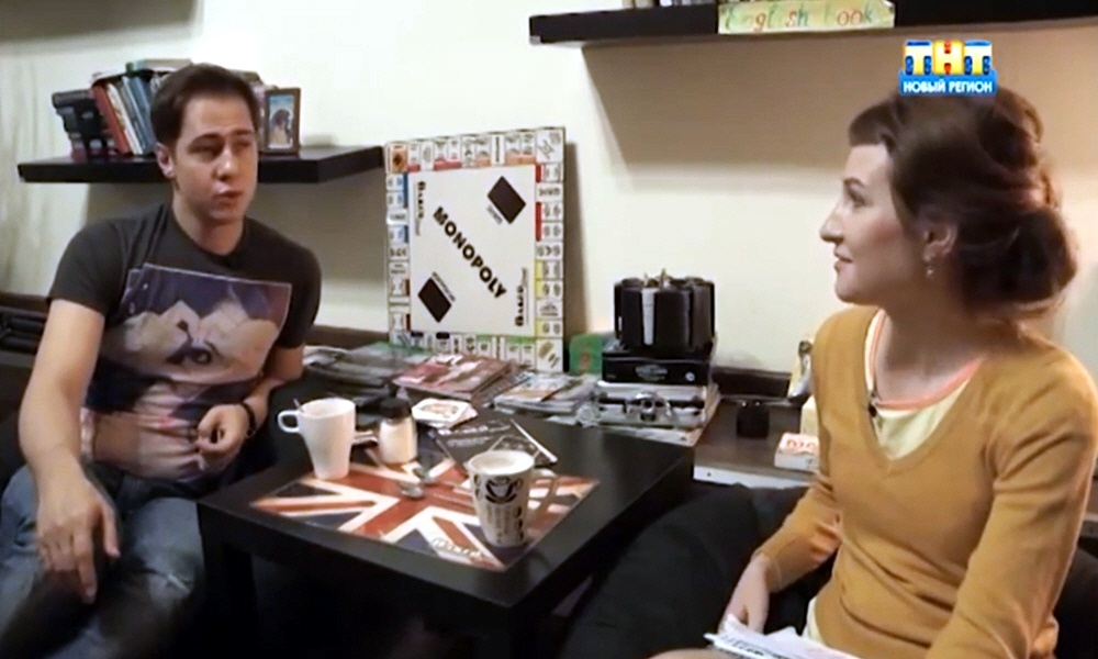 Роман Никитин в программе Стартап на телеканале ТНТ