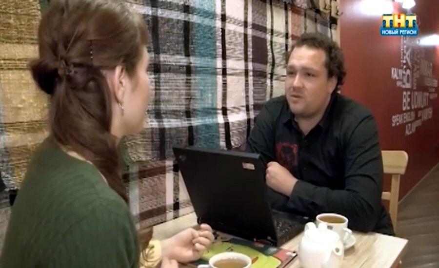 Семён Семёнов в программе Стартап на телеканале ТНТ