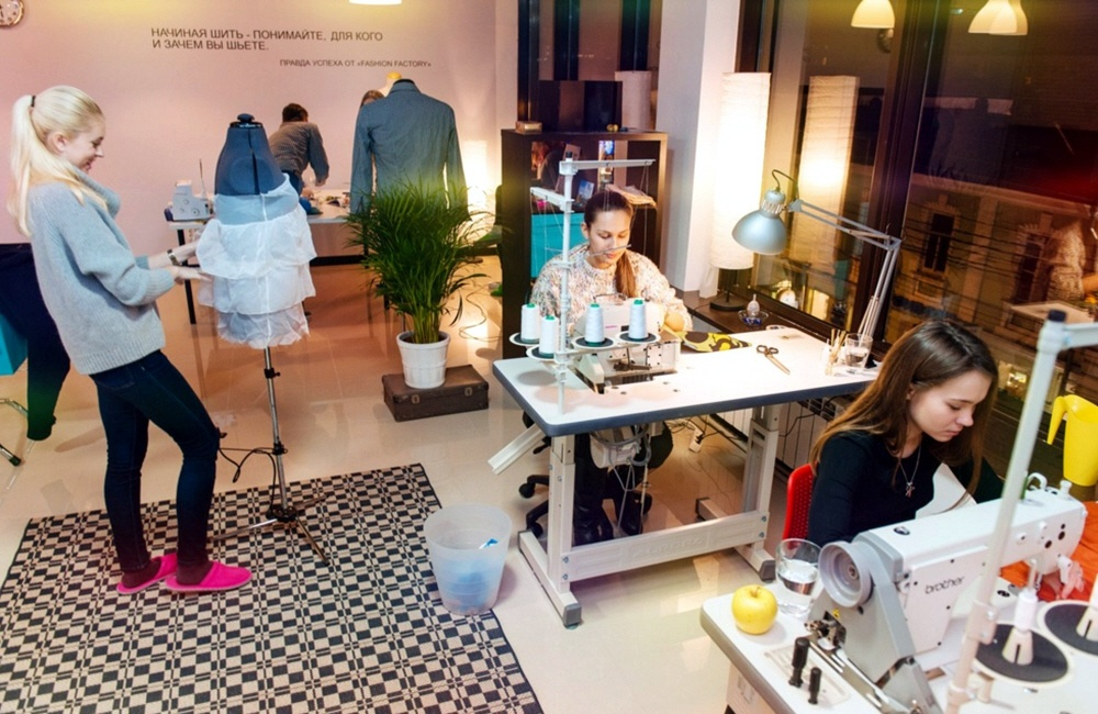 Швейное производство в коворкинге