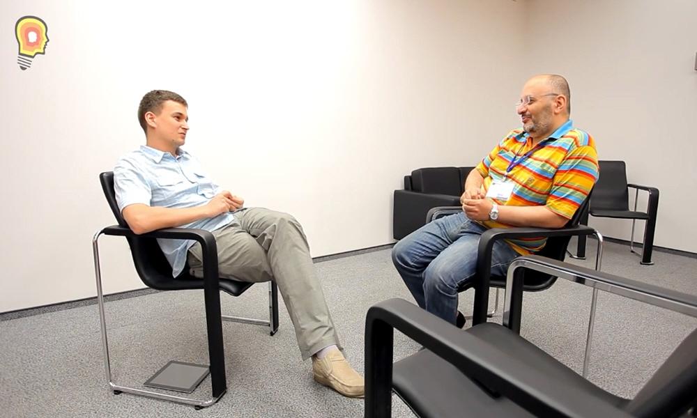 Михаил Зоненашвили в передаче Стартап среда