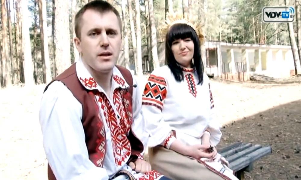 Алексей Мерживинский и Анастасия Сапёрова в программе Стартапы Витебска
