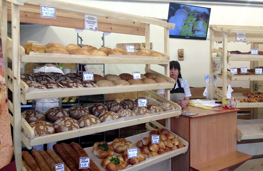Продажа хлебобулочных изделий