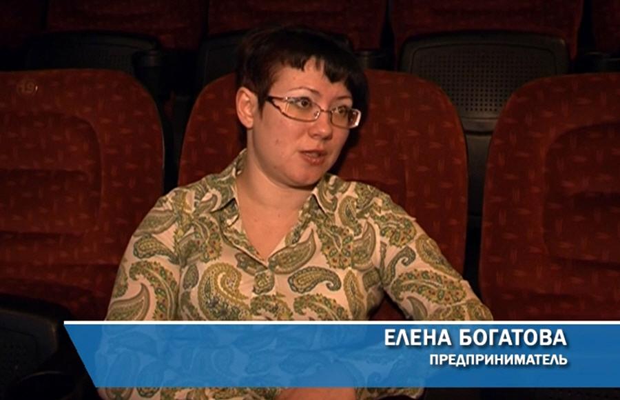 Елена Богатова - создательница кинотеатра ПЛАНЕТА в Отрадном