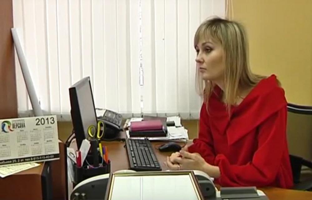 Евгения Домашева в передаче Своё дело на телеканале Сейм