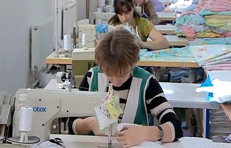 Бизнес по пошиву детской одежды