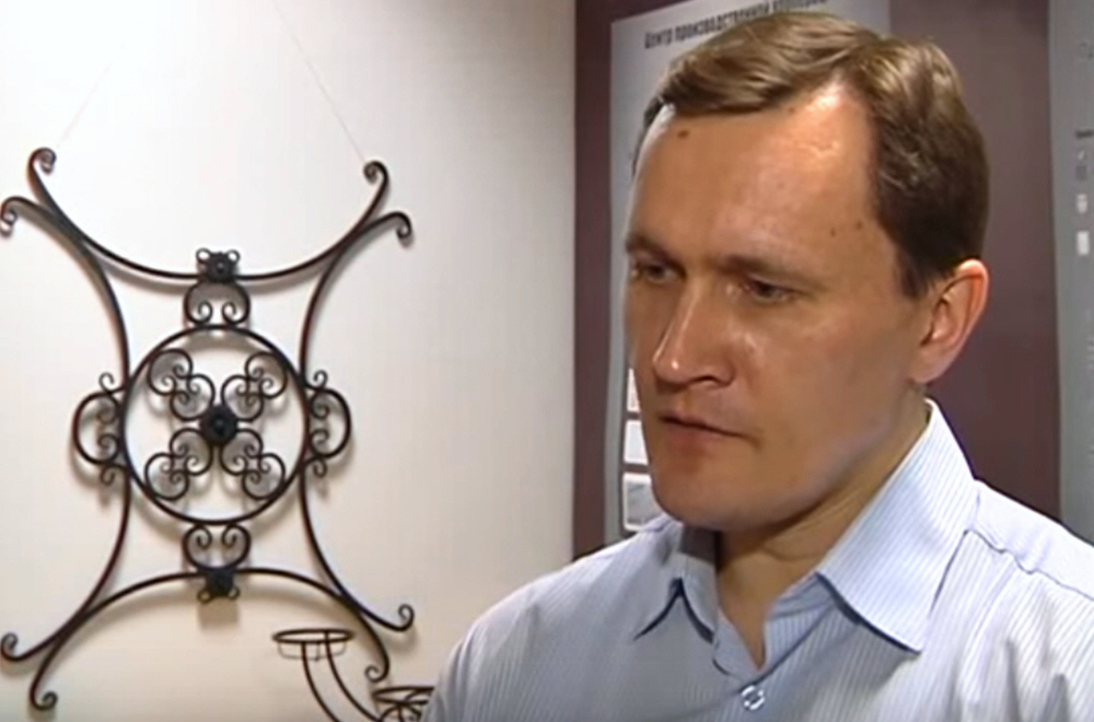 Тихон Стрельников в передаче Своё дело на телеканале Сейм
