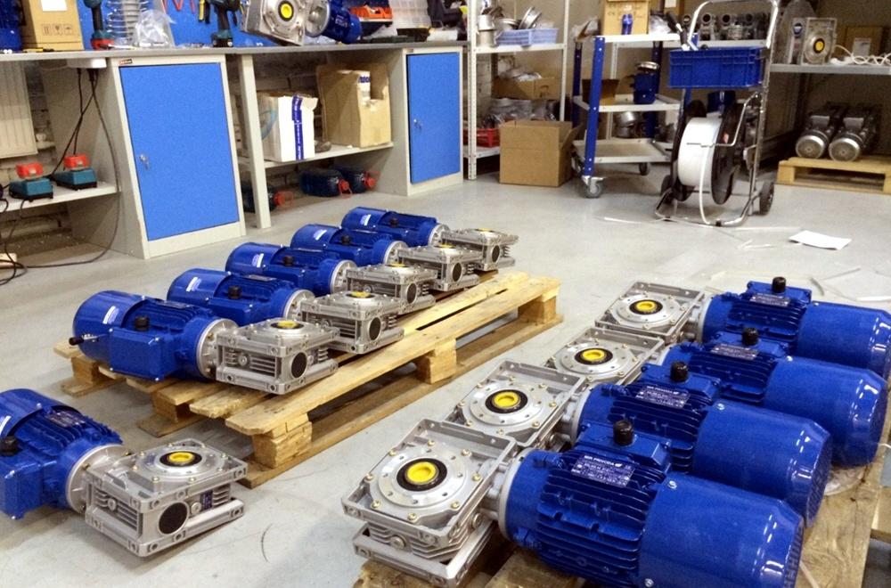 Бизнес по продаже электродвигателей и редукторов