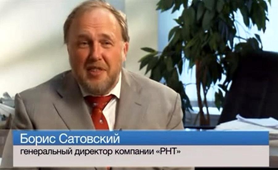 Борис Сатовский - основатель и генеральный директор компании Русские Навигационные Технологии