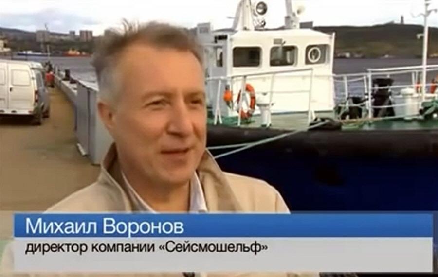 Михаил Воронов - сооснователь и директор компании Сейсмошельф