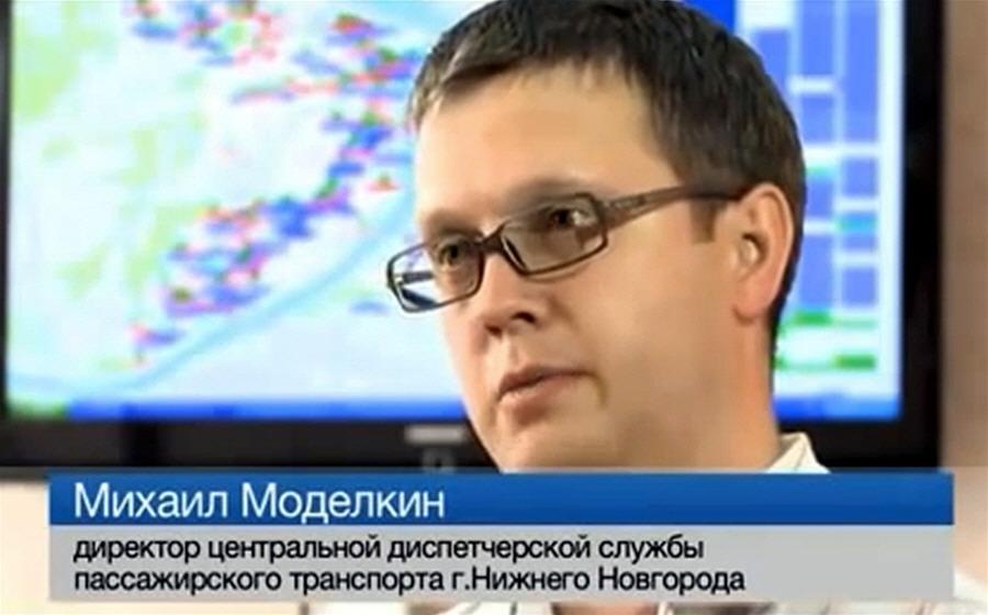 Михаил Моделкин - директор центральной диспетчерской службы пассажирского транспорта Нижнего Новгорода