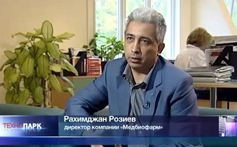 Рахимджан Розиев - директор компании Медбиофарм