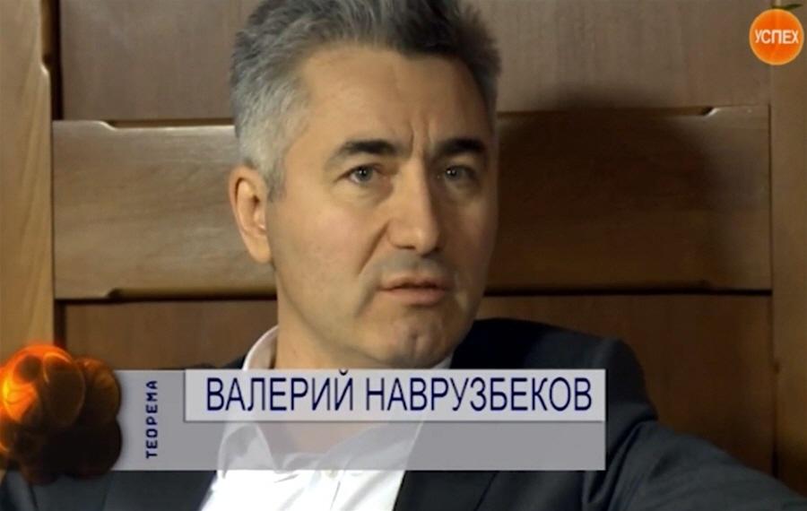 Валерий Наврузбеков - владелец компании Кухнистрой в программе Теорема