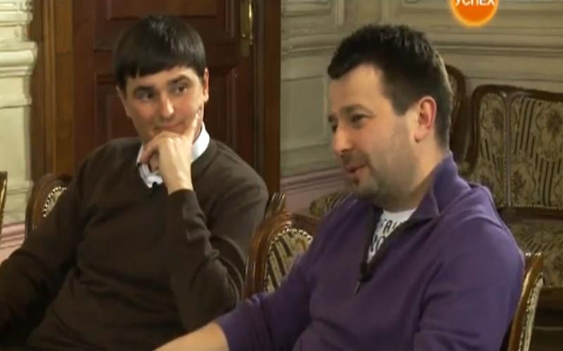 Игорь Мостовский и Вадим Мещеряков в программе Теорема на телеканале Успех