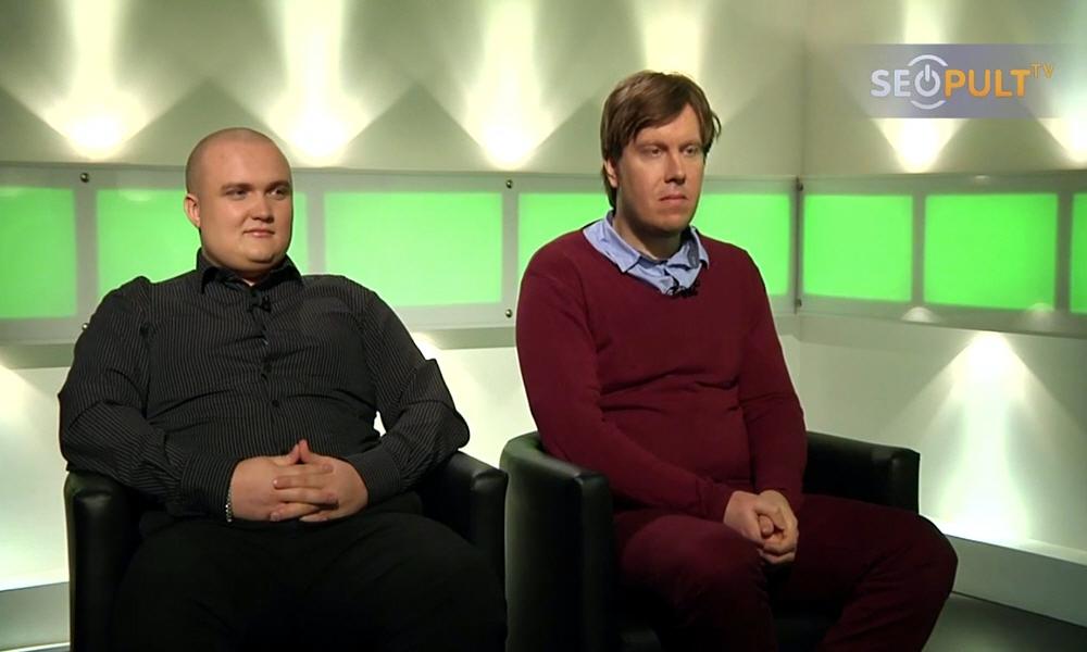 Евгений Круглов и Михаил Цуприков в передаче Точка Зрения