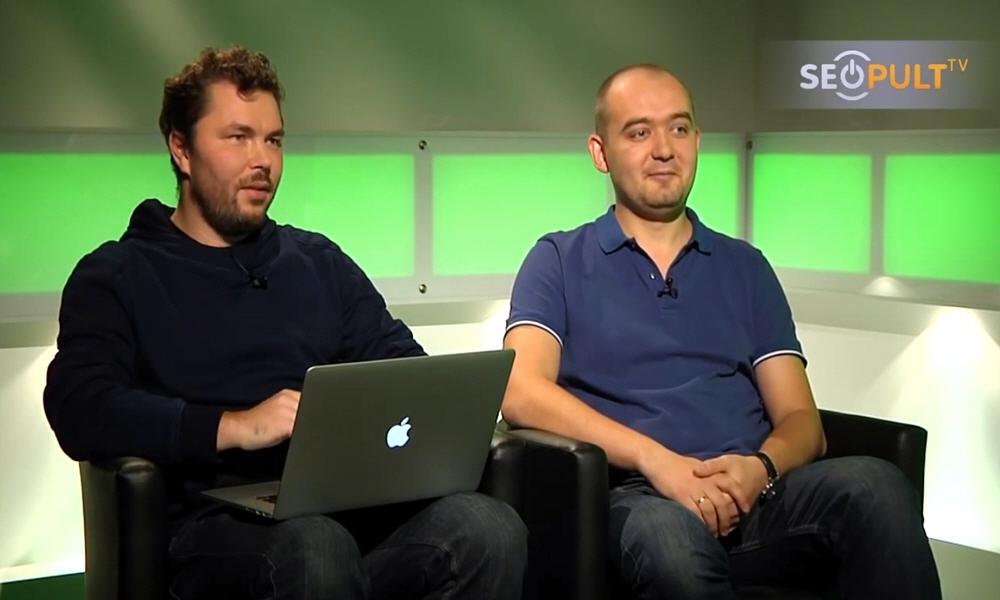 Александр Лямин и Юрий Устинов в передаче Точка Зрения