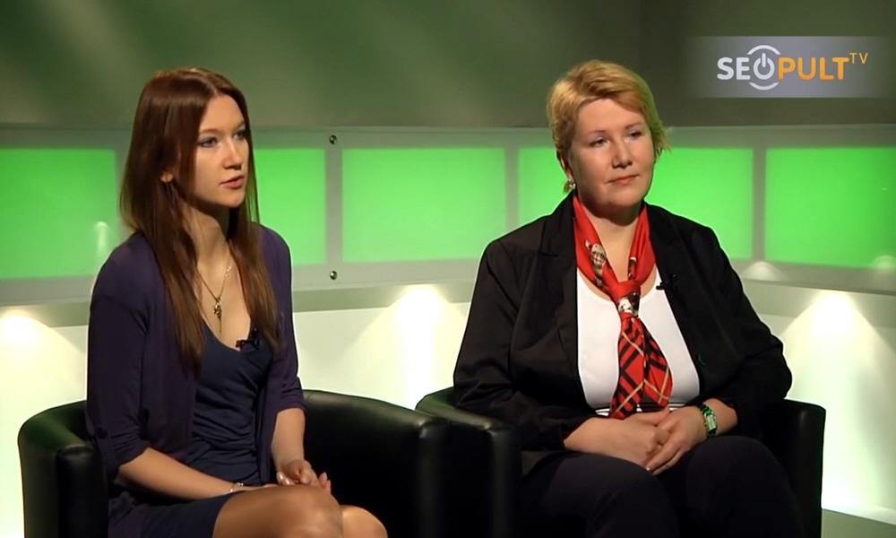 Дарья Огородникова и Елена Орлова в передаче Точка Зрения
