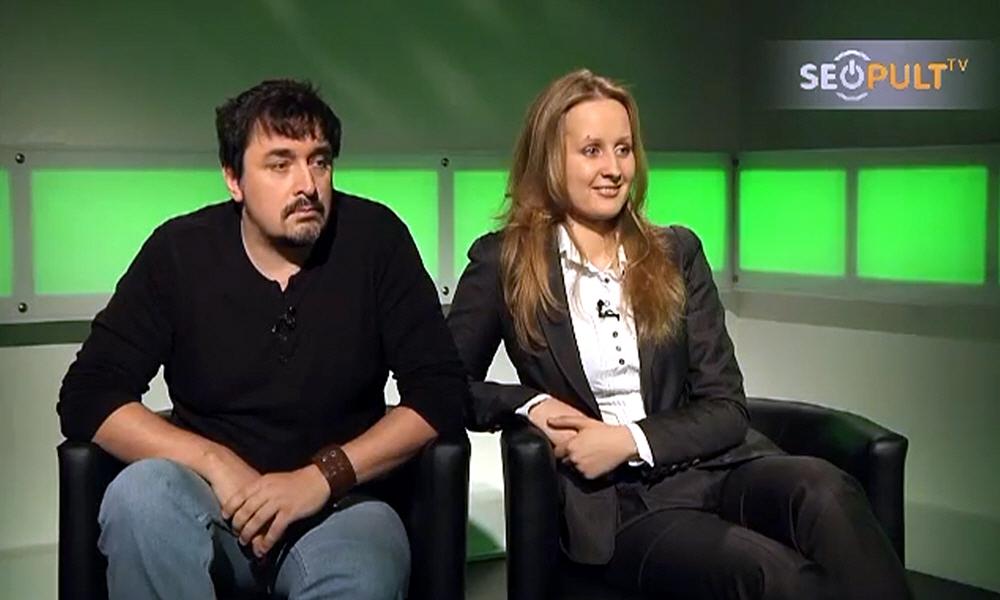Елена Бурдюгова и Дмитрий Чернышёв в передаче Точка Зрения