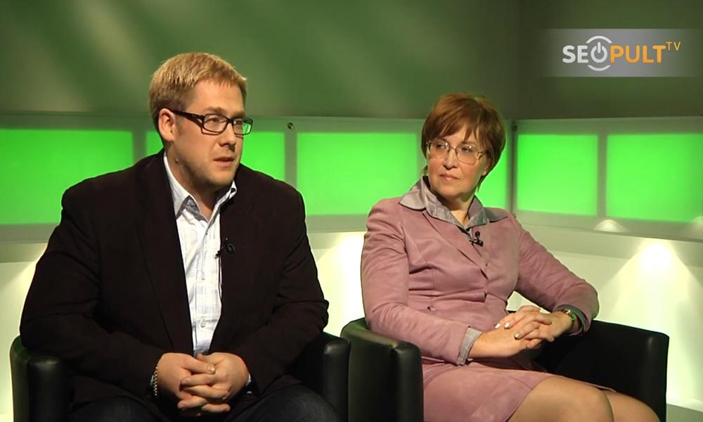 Лариса Богачёва и Алексей Кохберг в передаче Точка Зрения