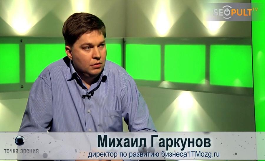Михаил Гаркунов - директор по развитию компании ITMozg