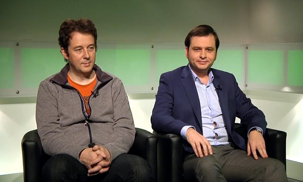 Сергей Коренев и Егор Яковлев в передаче Точка Зрения