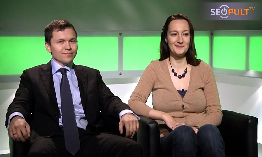 Сергей Куликов и Инна Москалёва в передаче Точка Зрения
