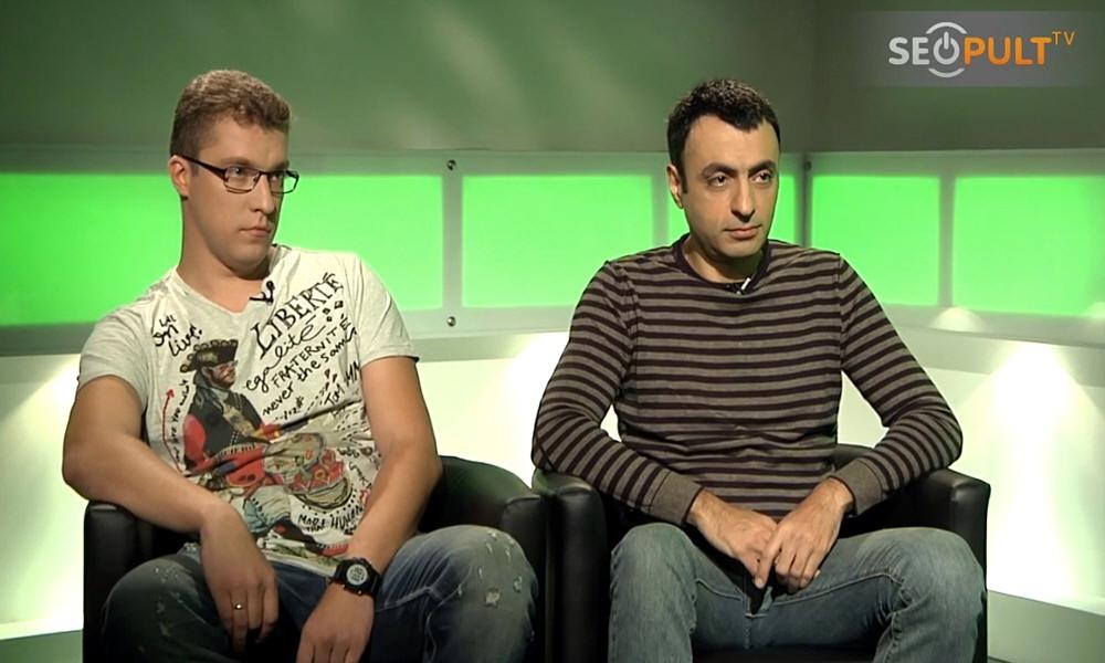 Степан Ерёмин и Арам Пахчанян в передаче Точка Зрения