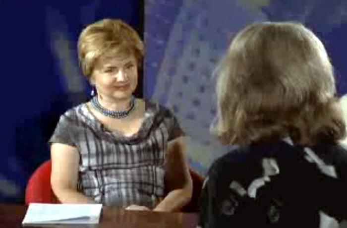 Жанна Мартынова в программе Третье дыхание