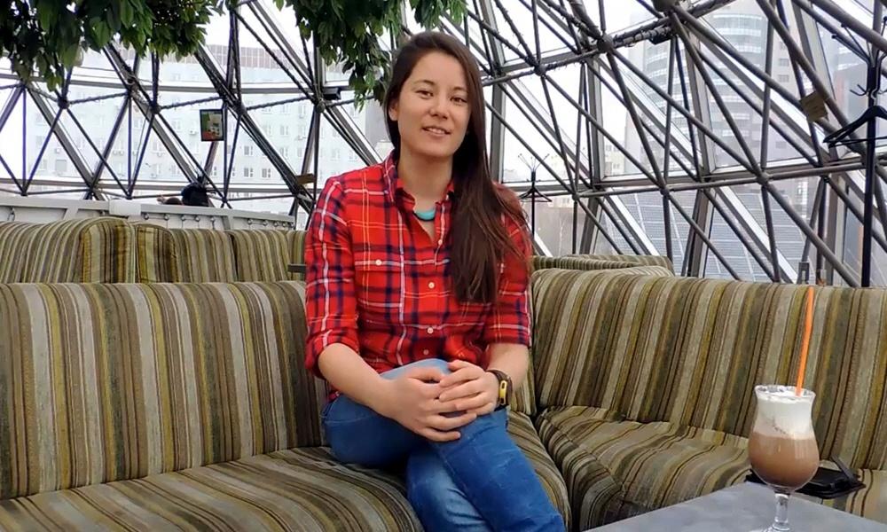 Юлия Ким - автор образовательного проекта Дзен Фитнес