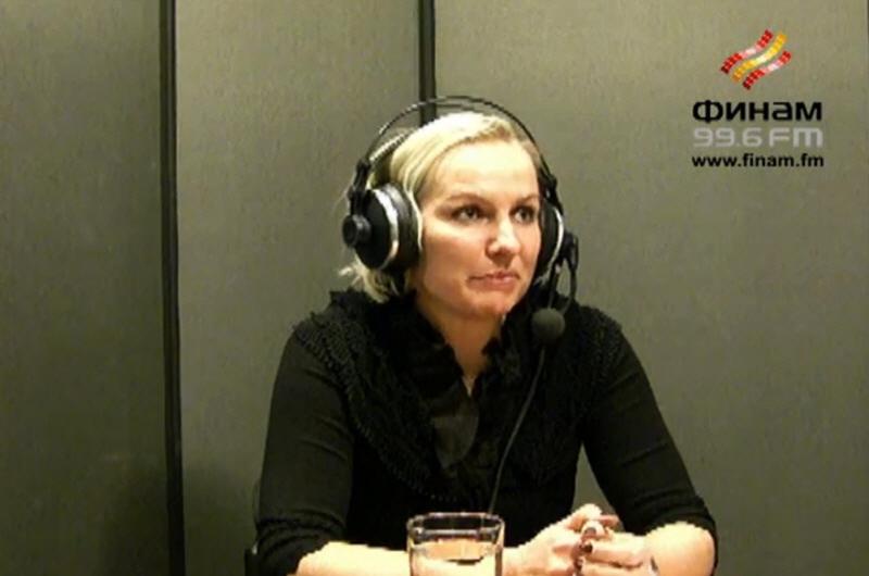 Вера Кузнецова в передаче В доле на Финам ФМ