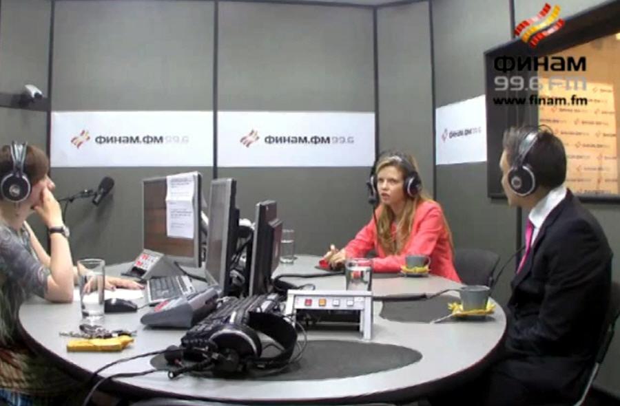Елена Фёдорова в передаче В доле на Финам ФМ