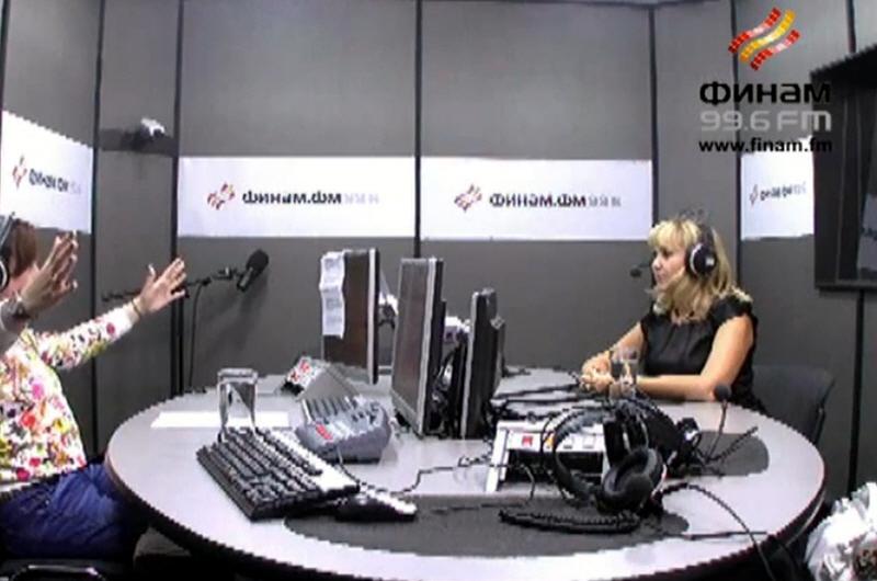 Ольга Рожкова в передаче В доле на Финам ФМ