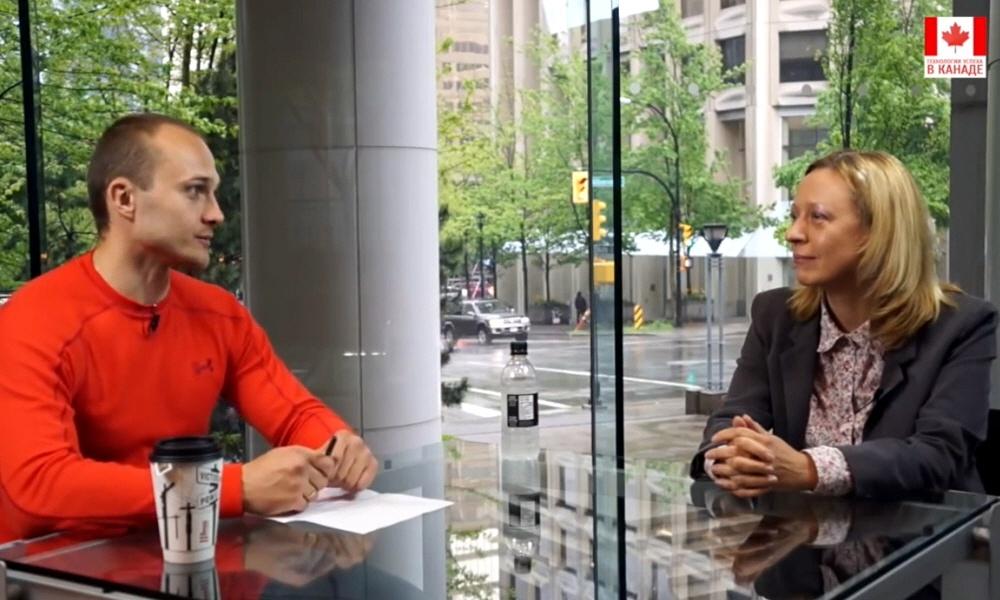 Анастасия Модестова в программе Технологии Успеха в Канаде