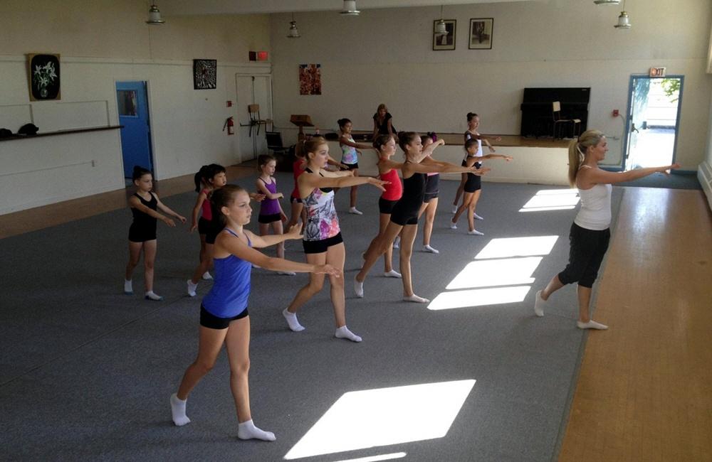 Открытие школы по художественной гимнастике